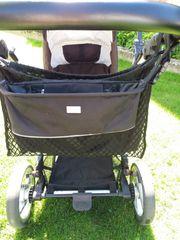 Wandelbarer Kinderwagen mit top Ausstattung