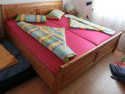 Doppelbett 200x200 cm Kiefer massiv