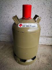 Leere Gasflasche Propangasflasche 11 Kilo