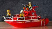 Playmobil Feuerlöschboot