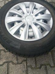 Satz Winterreifen Auf Stahlfelgen Opel