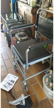 WC Rollstuhl Neu abzugeben