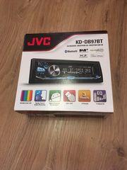 JVC Autoradio DAB inkl Splitter