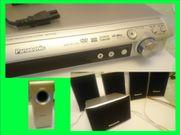 Panasonic DVD-Heimkino-Soundsystem DVD - Player