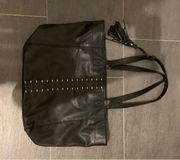 Handtasche Shopper von Hollister schwarz