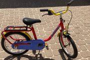 Rotes Puky Fahrrad 16 Zoll