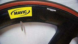 Mavic IO-5-Speichen-Spezial-Carbon-Vorderrad mit Tufo S3: Kleinanzeigen aus Hannover Hainholz - Rubrik Fahrradzubehör, -teile
