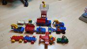 Lego DUPLO zahlreiche Fahrzeuge Flugzeug