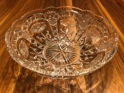 Glasschale Glasschüssel Glas Blumenmuster Durchmesser