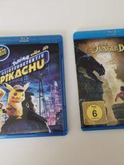 2 Blu-ray Filme Pikachu und