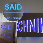 Leuchtkasten Werbeschild 3D Buchstaben Leuchtwerbung