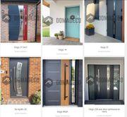 Individuelle Haustüren von Domadeco