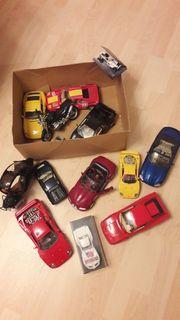 Modellautos versch