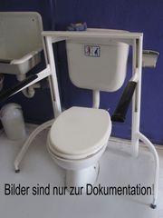 WC Toiletten Aufstehhilfe Toilettengestell WC