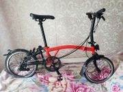 Brompton Black Edition rocket red