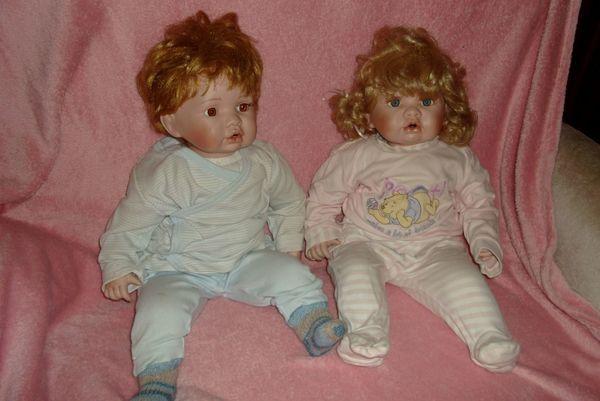 Porzellan Puppenpaar