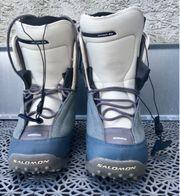 Frauen Snowboardschuhe Salomon Gr 41