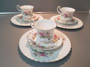 3 Royal Albert Bone China