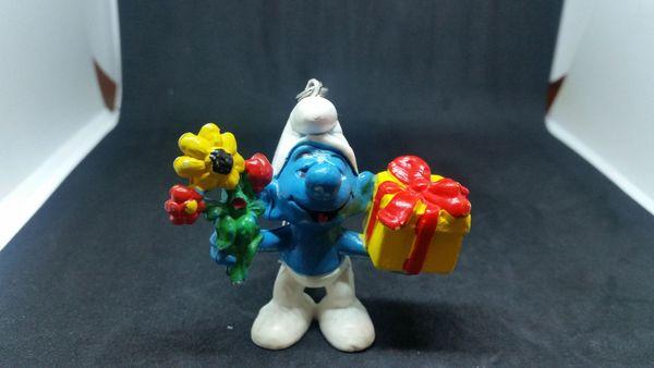 Schlüsselanhänger Geschenke Schlumpf
