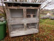 Großer funktionaler Hasen- Kaninchenstall Selbstbau
