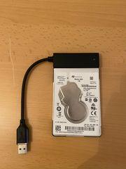 Mobile HDD mit USB Schnittstelle
