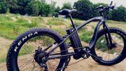 E-Bike WMX26 Standardmodell als Fatbike