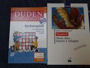 Übungsbücher Mathematik und Deutsch 4