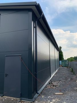 Stahlhalle Werkstatthalle Gewerbehalle Lagerhalle mit: Kleinanzeigen aus Bielefeld Südwestfeld - Rubrik Büros, Gewerbeflächen