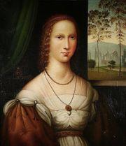 Alter prachtvoller Meister Portrait einer