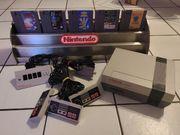 Nintendo NES - Konsole - Spiele - Controller -