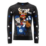FC Schalke Ugly Christmas Sweatshirt Santa