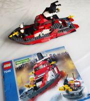 LEGO World City - Feuerwehrschiff 7046