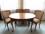 WARRINGS Esstisch mit 4 Stühlen