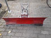 Schneeräumschild für ATV Rasentraktor Aufsitzmäher
