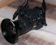 Olympus-Kamera-Ausrüstung