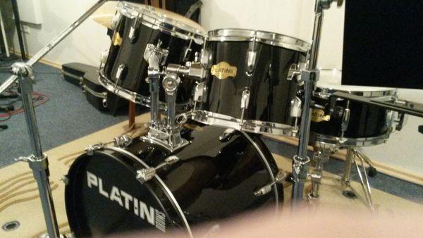 Drumset schwarz