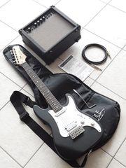 Rocktile Junior E-Gitarre mit Kabel