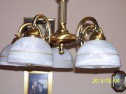 Messing Pendeldeckenlampe fünfflammig sehr elegant