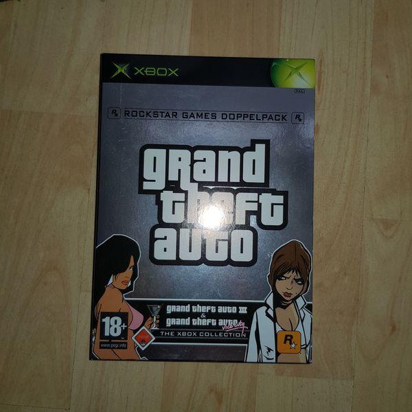 Grand Theft Auto Xbox Collection