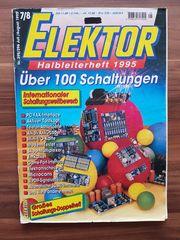 Zeitschrift Elektor 9 Jahrgänge sowie