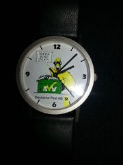 Armbanduhr Deutsche Post AG Aufschrift
