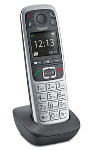 Seniorentelefon Gigaset E550H platin Mobilteil
