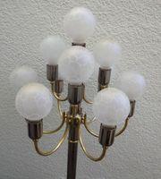 Schmitz Stehlampe Lampe Metall glänzend