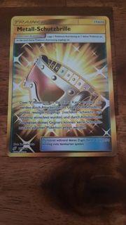 Pokemon Karte Trainer Metall-Schutzbrille 195