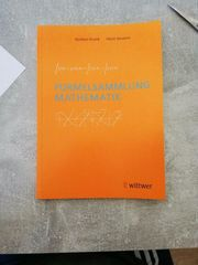 Formelsammlung der Mathematik