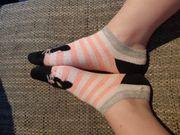 Verkaufe getragene Socken und Strümpfe