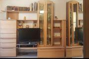 Wohnzimmer Wandverbau