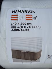 Federkern Matratze Ikea Hamarvik 140x200cm
