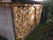Brennholz trocken ofenferig