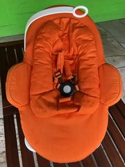 Stokke Steps Bouncer Baby-Wippe orange